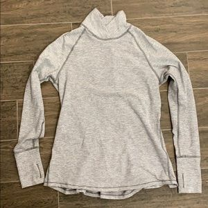 Lululemon grey and white pullover